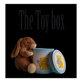 The toy box print