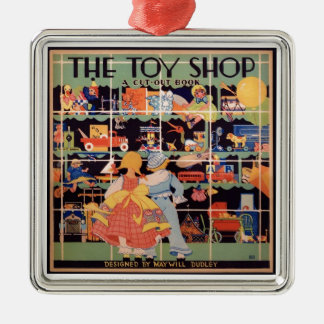 The Toy Shop || 1935 Vintage Book Ornament