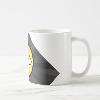The traditional cup in white