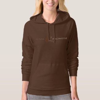 The traditional hoodie of Promise reversed logo
