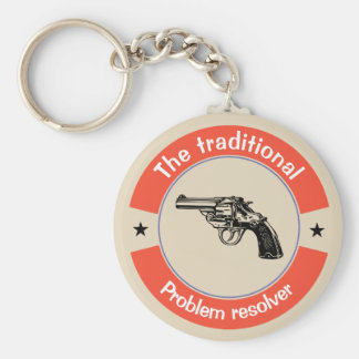 The traditional problem resolver keychain