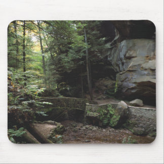 The Trail at Old Man's Cave Mouse Pad