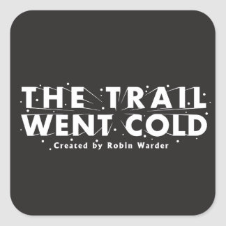 The Trail Went Cold Logo Sticker