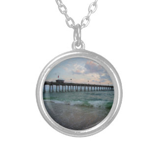 The Trajectory of Choice Silver Plated Necklace