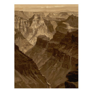 The Transept, Kaibab Division, Grand Canyon Postcard