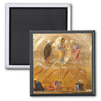 The Transfiguration Medieval Religious Fine Art Magnet
