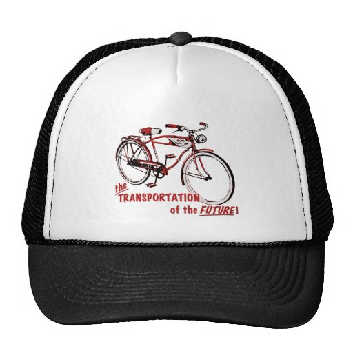 The Transportation of the Future Trucker Hat