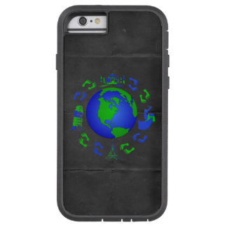 The Traveling Feet Design Tough Xtreme iPhone 6 Case