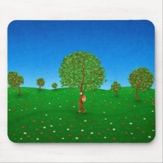 The Traveling Tree Mouse Pad