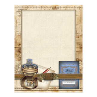 The Traveller Personalized Letterhead