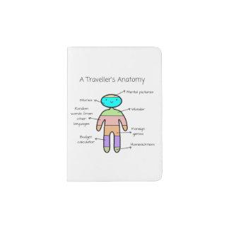 """The Traveller's Anatomy"" - Passport Cover"