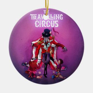 The Travelling Circus Ceramic Ornament