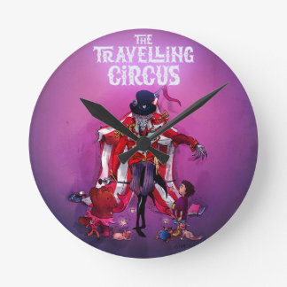 The Travelling Circus Round Clock