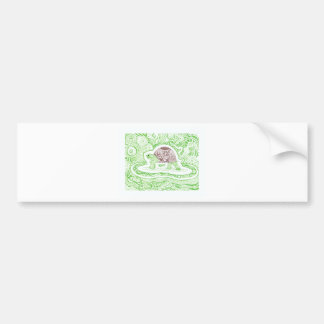 The Travelling Tortoise Bumper Sticker