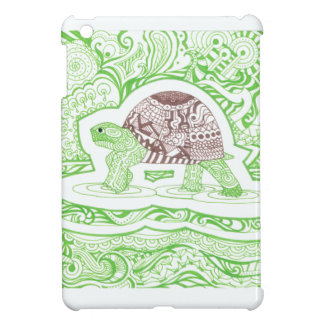 The Travelling Tortoise iPad Mini Case