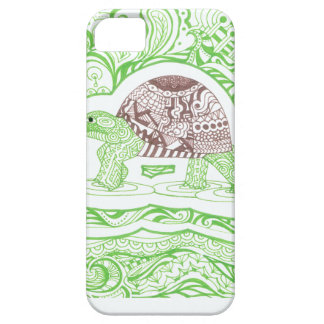 The Travelling Tortoise iPhone 5 Covers