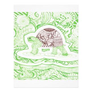 The Travelling Tortoise Letterhead