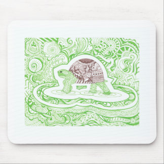 The Travelling Tortoise Mouse Pad