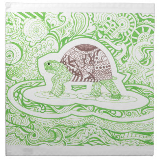 The Travelling Tortoise Napkin