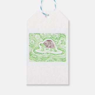 The Travelling Tortoise Pack Of Gift Tags