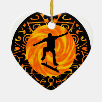 THE TRE FLIP CERAMIC ORNAMENT