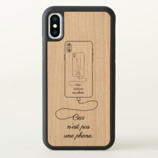 The Treachary of Images - iPhone X Case