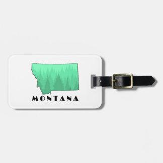 The Treasure State Luggage Tag