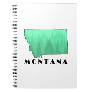 The Treasure State Spiral Notebook