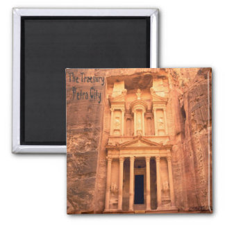 The Treasury Of Petra City Fridge Magnet Souvenir