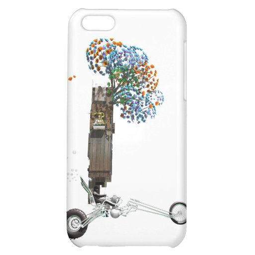 The Tree House Chopper Motorcycle iPhone 5C Cover