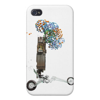 The Tree House Chopper Motorcycle iPhone 4/4S Cases