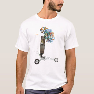 The Tree House Chopper Motorcycle T-Shirt