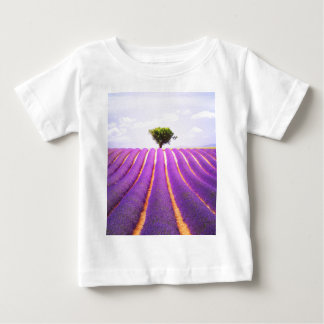 The tree in the lavender baby T-Shirt