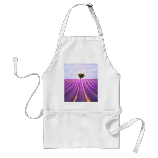 The tree in the lavender standard apron
