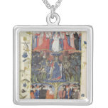 The Tree of Battles Silver Plated Necklace