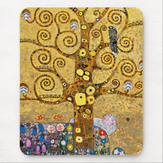 """The Tree of Life"" and Gustav Klimt Mouse Pad"