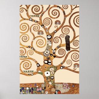 The Tree of Life by Gustav klimt Poster