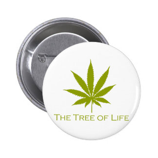 The Tree of Life (Cannabis) 2 Inch Round Button