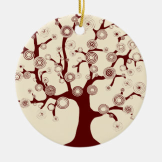 The Tree of Life Ceramic Ornament
