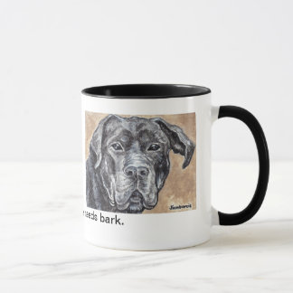 The tree of life needs bark mug