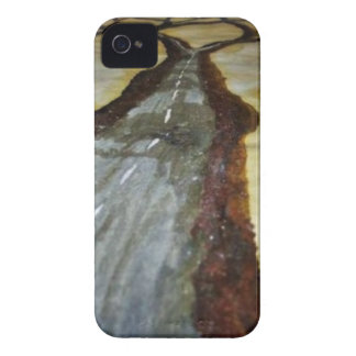 The Tree of Life with the Road that Forks3-Down th iPhone 4 Case