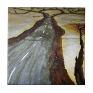 The Tree of Life with the Road that Forks3-Down th Tile