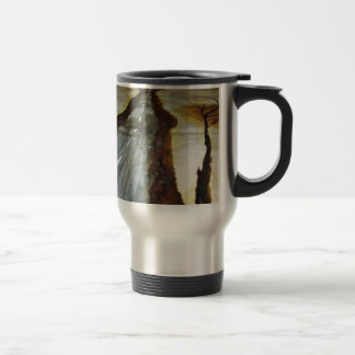 The Tree of Life with the Road that Forks3-Down th Travel Mug