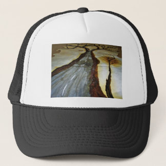 The Tree of Life with the Road that Forks3-Down th Trucker Hat