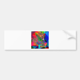 The tree of love makes our rainbow bumper sticker