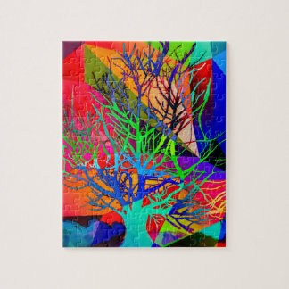 The tree of love makes our rainbow jigsaw puzzle