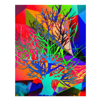 The tree of love makes our rainbow letterhead