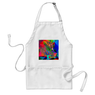 The tree of love makes our rainbow standard apron