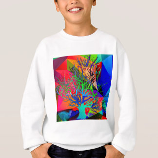 The tree of love makes our rainbow sweatshirt