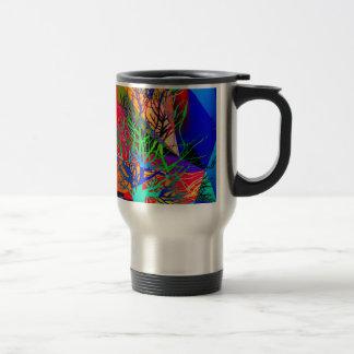 The tree of love makes our rainbow travel mug